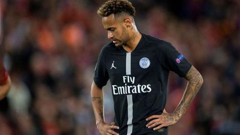 Neymar lamenta una derrota del PSG | EFE